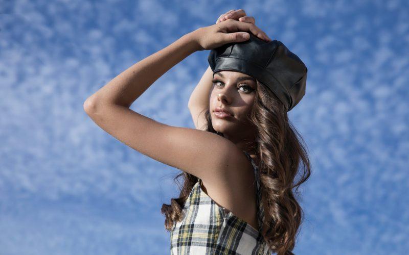 meika woollard australian fashion model photoshoot portrait beautiful young woman 1